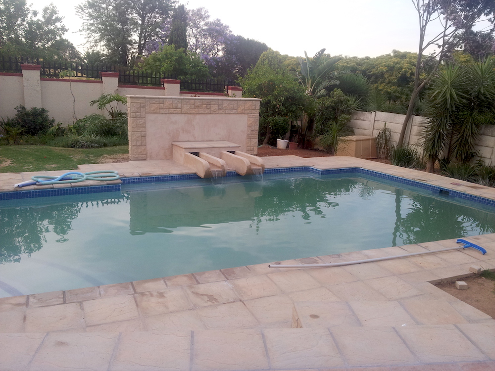 Pool Construction in winter